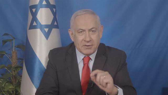Benjamin Netanyahu addressing AIPAC (Photo: Connect)