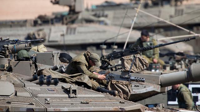 Израильские танки. Фото: AP