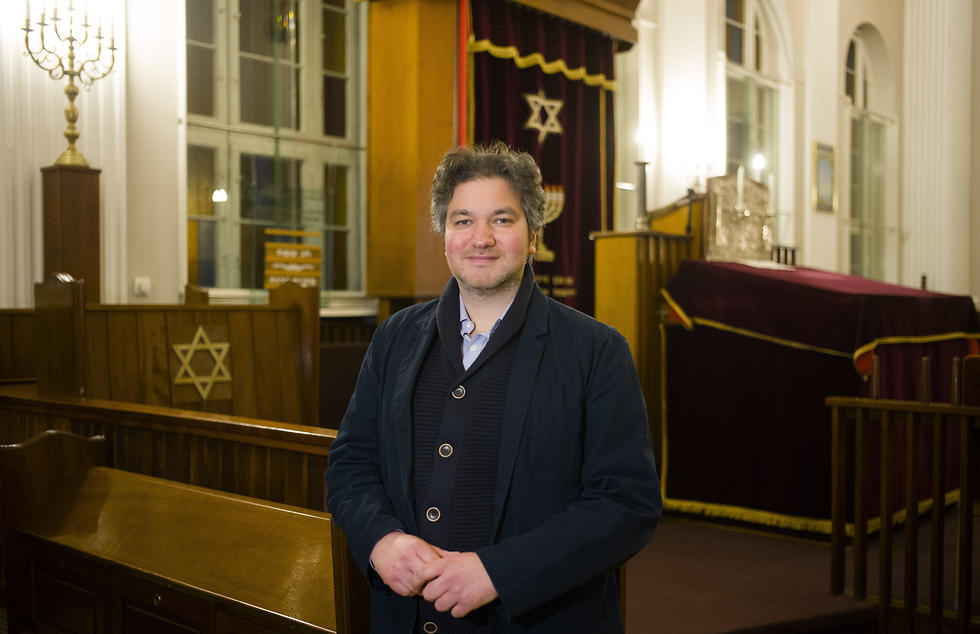 Jonathan Marcus a German member of 'Fraenkelufer' synagogue
