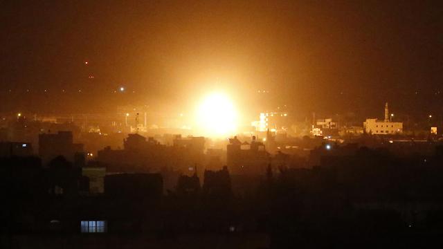 Удар по Газе. Фото: AFP (Photo: AFP)