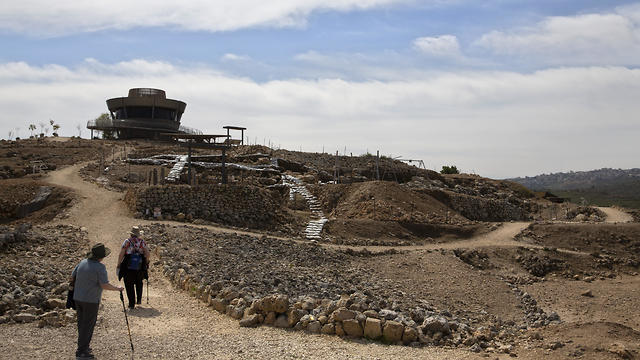 The archaeological site of Tel Shiloh in the West Bank (Photo: AP)