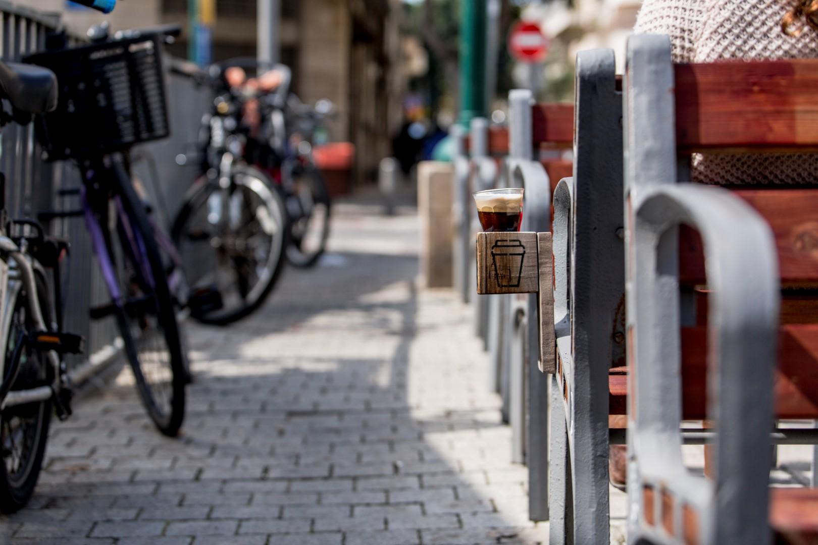 להיות במרכז התרבות - מתחם נגה תל אביב (צילום: מנש כהן)