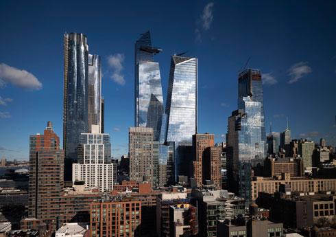 14 מגדלים שממלאים ואקום ותיק בצד המערבי של מנהטן (צילום: AP)