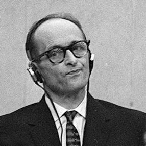 אייכמן בעת משפטו