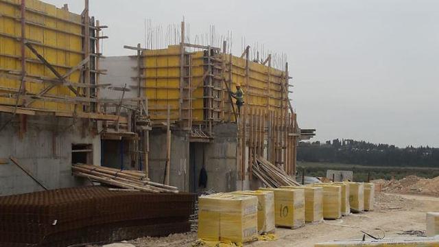 אתרמתחם B אור המזרח קבלן מבצע ע.ע אבו ראס (צילום: משרד העבודה)