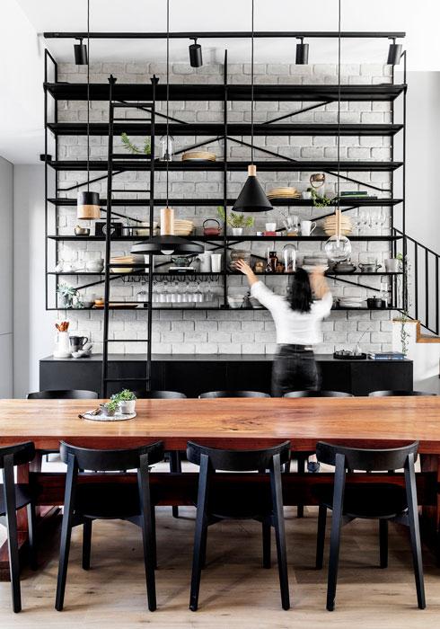 ביתה של מחברת ספרי הבישול הטבעוני אביטל סבג. לחצו לכתבה (צילום: איתי בנית)