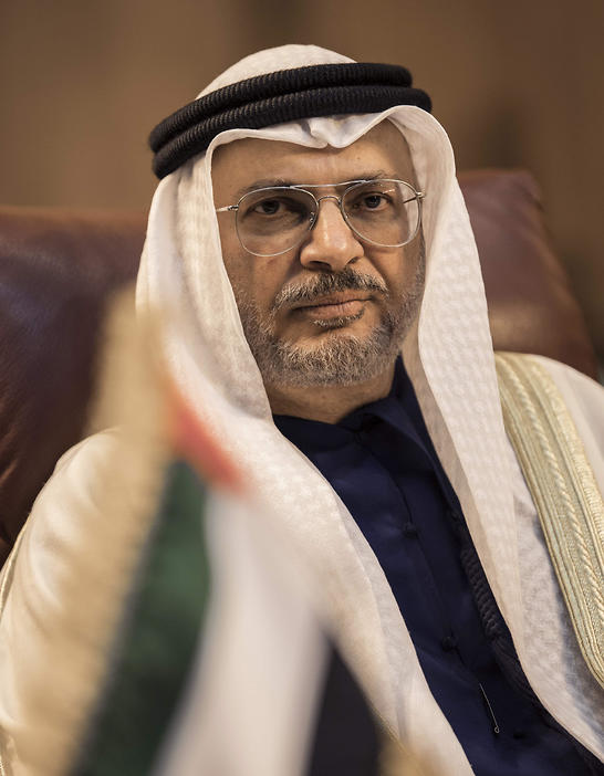 Emirati Minister of State for Foreign Affairs Anwar Gargash attends a meeting of the Arab League Foreign Ministers in the Egyptian capital Cairo on March 6, 2019.  (Photo: AFP)