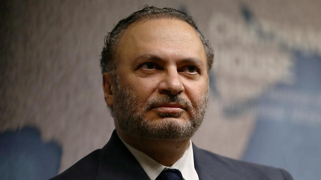 Minister of State for Foreign Affairs for the United Arab Emirates, Anwar Gargash, speaks at an event at Chatham House in London, Britain July 17, 2017 (Photo: Reuters)