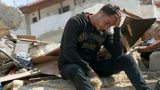 В секторе Газы. Фото: AP