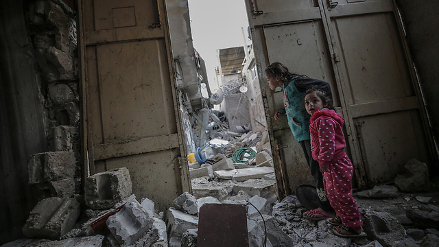 В секторе Газы. Фото: EPA