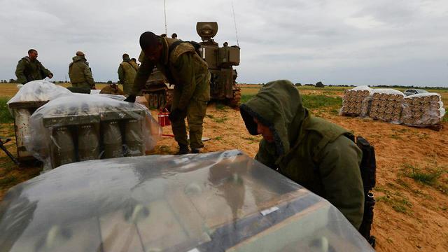 Боеприпасы на границе Газы. Фото: Ави Роках