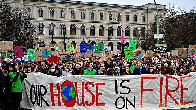 המצעד בברלין (צילום: AFP)