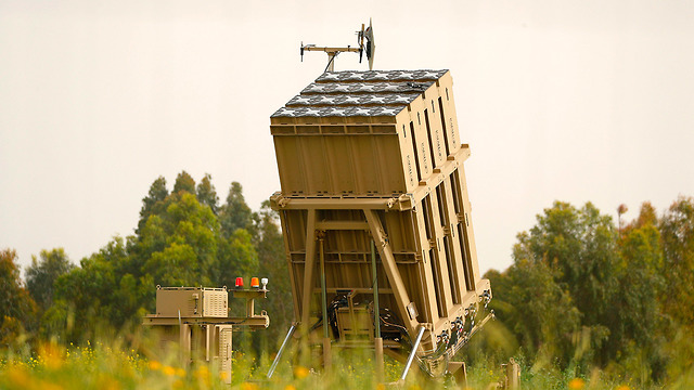 An Iron Dome battery in southern Israel (Photo: Associated Press)