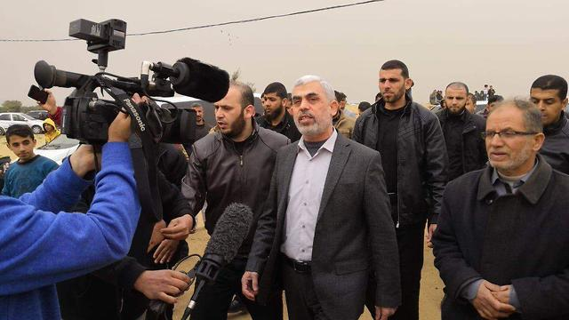 Главарь ХАМАСа в Газе Ихья Синвар