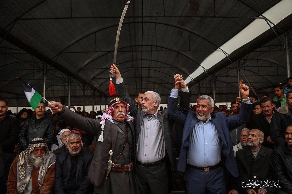 Главари ХАМАСа в Газе
