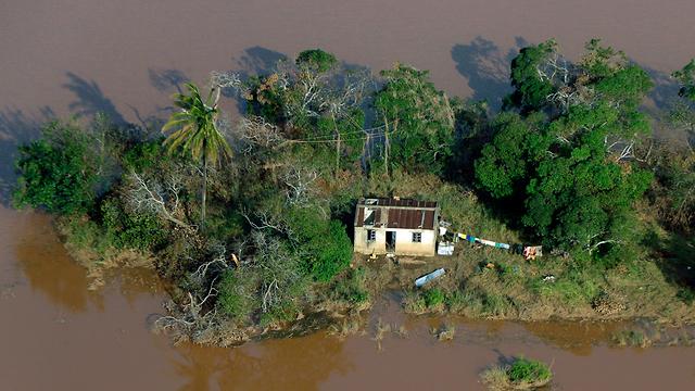 ציקלון אפריקה מוזמביק העיר ביירה  (צילום: AP)