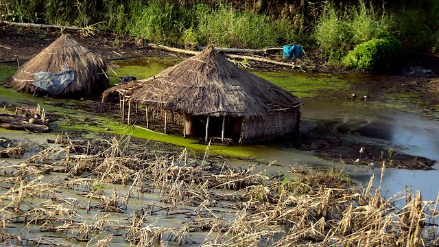 ציקלון אפריקה מוזמביק העיר ביירה ניצולים (צילום: AP)