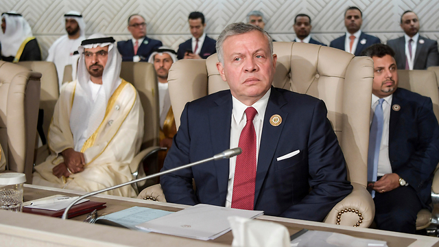 King Abdullah II of Jordan at an Arab League conference in Tunisia (Photo: AP) (Photo: AP)