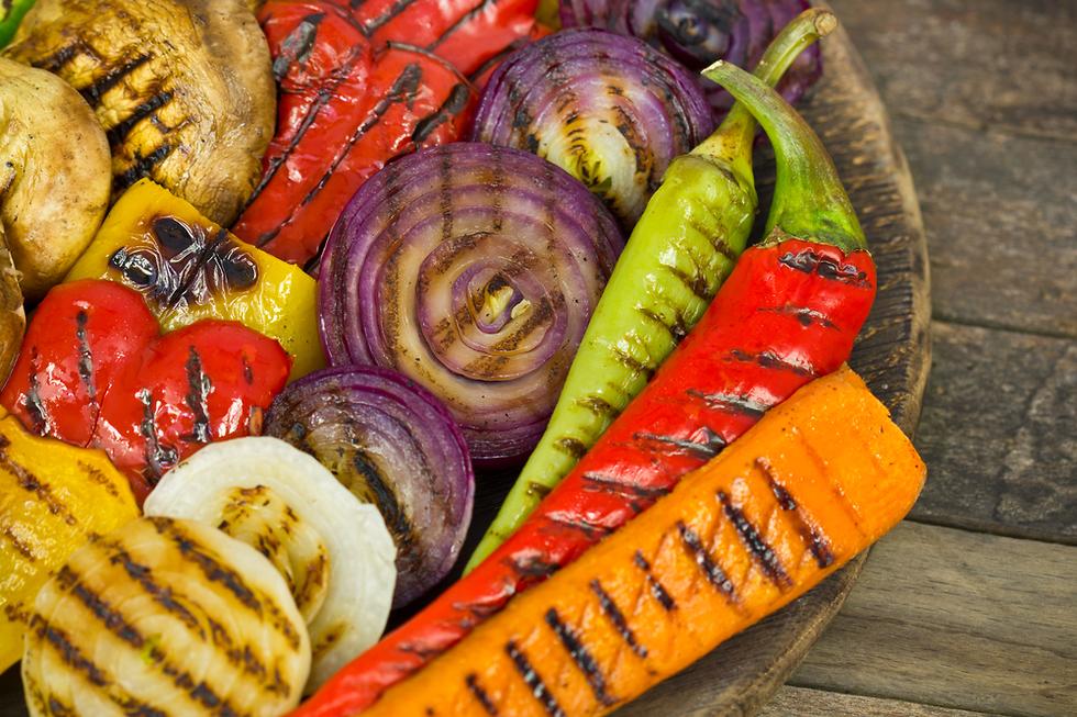 ירקות צלויים (צילום: shutterstock)