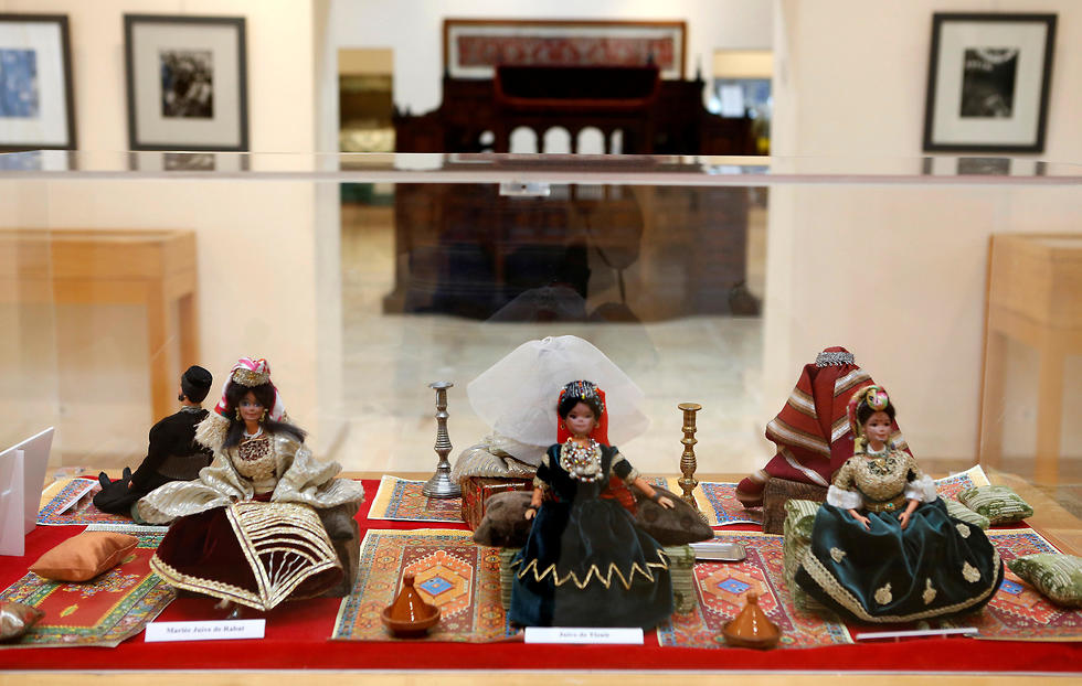 Ancient artifacts are seen on display at the Belghazi Museum in Kenitra, Morocco
