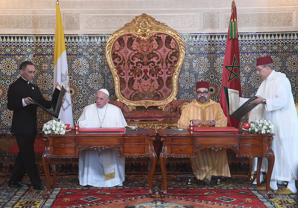 Pope Francis and King Mohammed VI