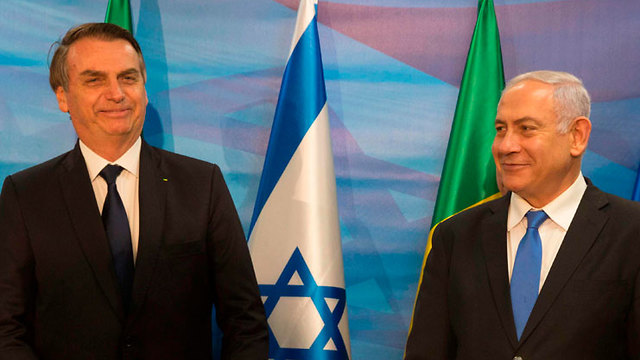 Benjamin Netanyahu and Jair Bolsonaro (Photo: AFP)