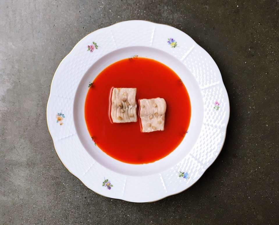 Блюдо от Аттилы Куруца. Фото: пресс-служба