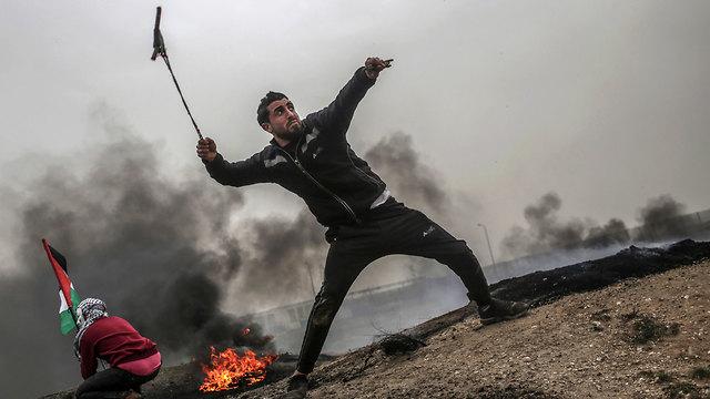Беспорядки на границе с Газой. Фото: EPA (Photo: EPA)