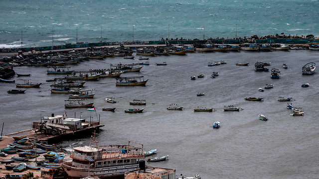 Gaza's fishing zone (Photo: AFP)