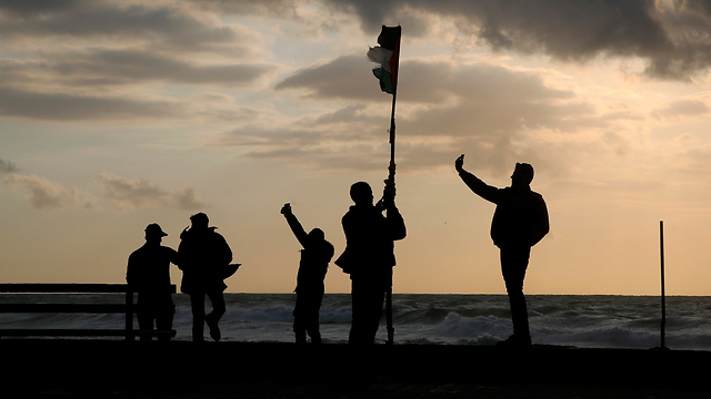 The Gaza beach (Photo: AP)