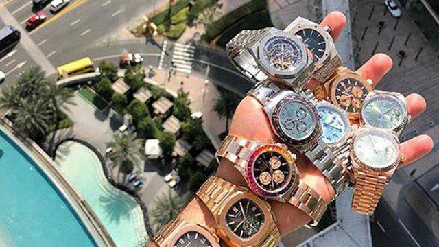 שעוני היוקרה (צילום: מתוך עמוד האינסטגרם של אבי קורן)