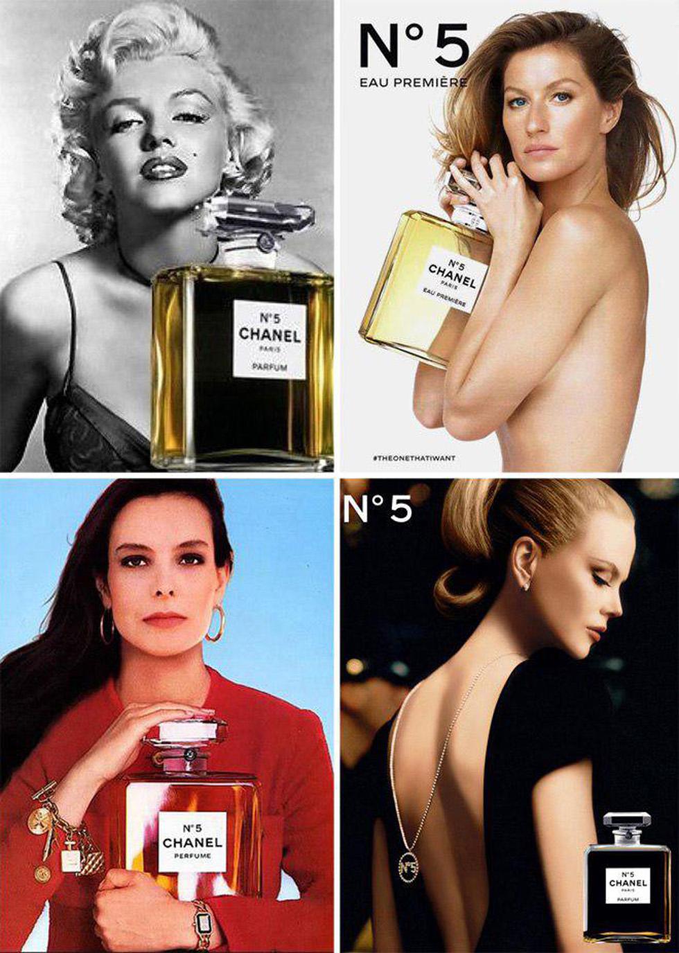 Рекламные плакаты легендарного парфюма. Фото: пресс-служба