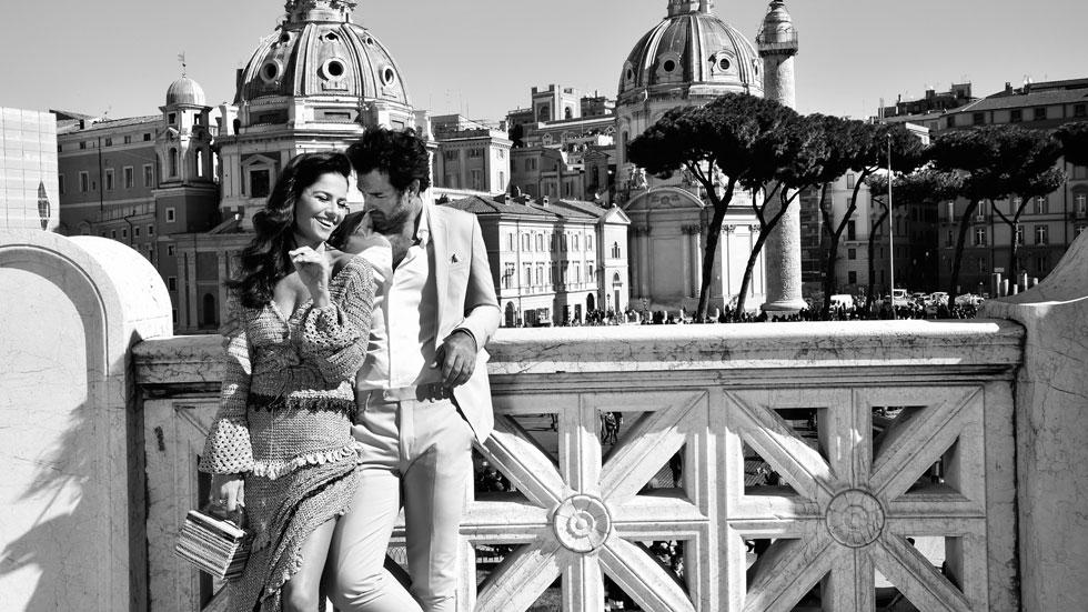 סנדי בר וזוהר ליבה בהפקה רומנטית ברומא