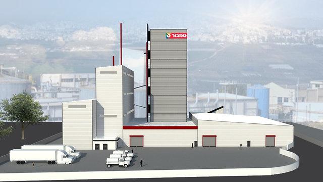 מפעל טמבור החדש באשקלון (הדמיה: לוטן אדריכלים)