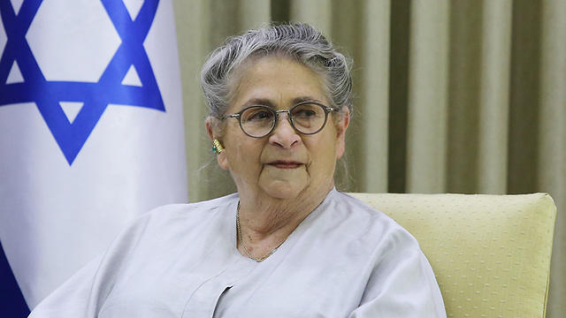 First lady Nechama Rivlin (Photo: Alex Kolomoisky)