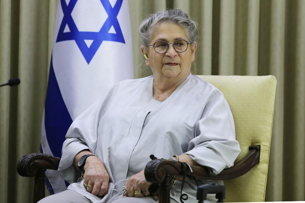Первая леди Израиля Нехама Ривлин в 2018 году. Фото: Алекс Коломойский (Photo: Alex Kolomoisky)
