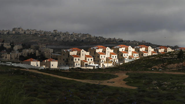 The West Bank settlement of Neve Yaakov  (Photo: AFP)