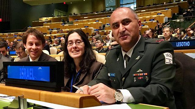 Израильская делегация. Фото: пресс-служба ООН