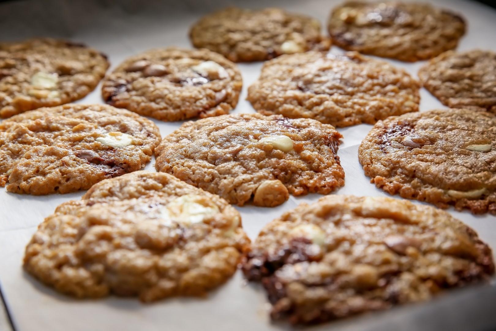 סאני דרעי אופה עוגיות שוקולד (צילום: ירון ברנר)