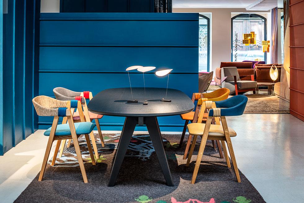 שני מותגי יוקרה בעיצוב הבית - הרהיטים של מורוסו וגופי התאורה של אינגו מאורר - משיקים שיתוף פעולה (צילום: Leonardo Duggento)