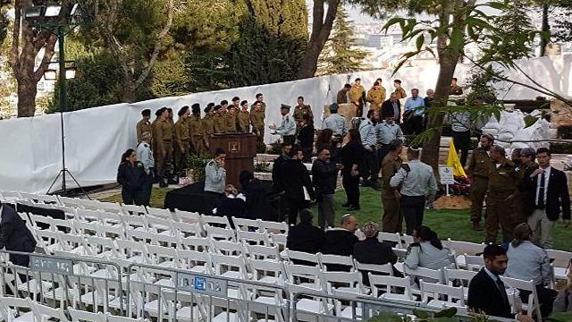 Funeral of Zachary Baumel (Photo: Moshe Mizrahi)