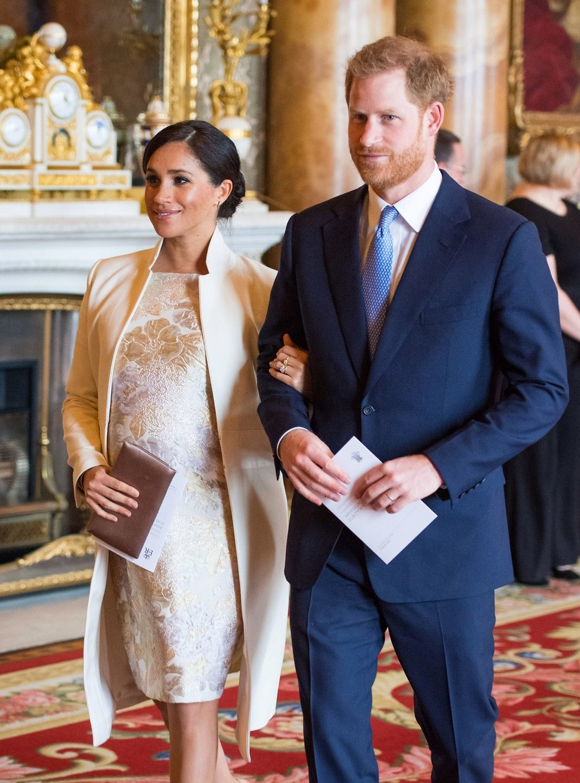 מייגן מרקל הנסיך הארי (צילום: Gettyimages)