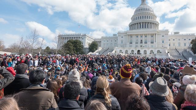 הפגנה של סטודנטים בארה