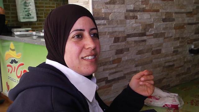 Tira resident Hanan Zebarga: Likud helped us more than the Arab parties (Photo:Yaron Sharon) (Photo: Yaron Sharon)
