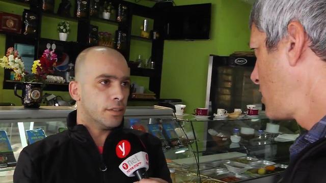 Muhammed Ata, who will be voting for Zehut (Photo: Yaron Sharon)