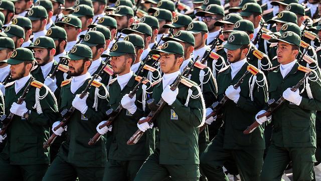 Iranian Revolutionary Guards Corps (Photo: AFP)
