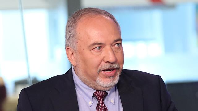 Avigdor Lieberman (Photo: Avi Mualem)