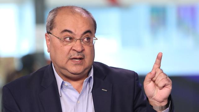 אחמד טיבי ראיון אולפן ynet (צילום: אבי מועלם)
