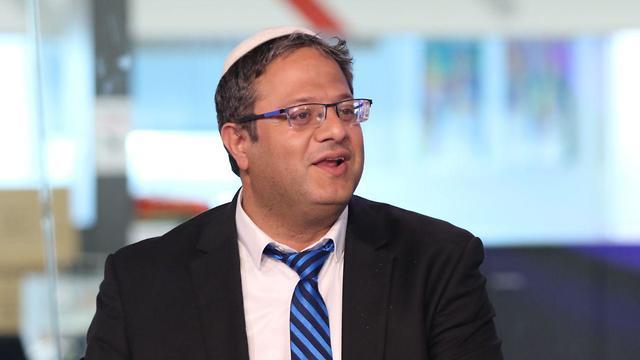 Itamar Ben-Gvir Interview in the studio (Photo: Avi Mualem)