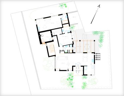 תוכנית קומת הקרקע (תוכנית: אורלי אביטל)